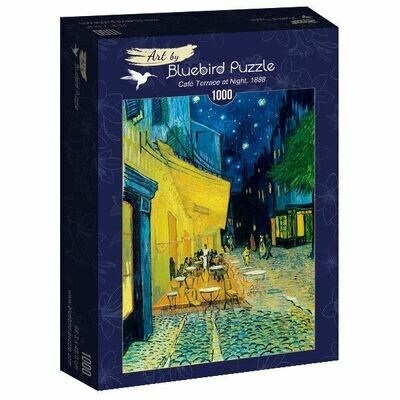 PUZZLE 1000 pcs - Café Terrace at Night, 1888 - BLUEBIRD