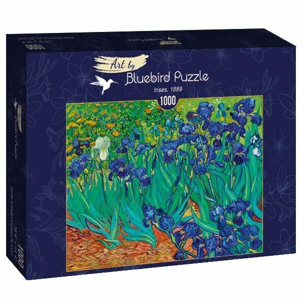 PUZZLE 1000 pcs - Irises, 1889 - BLUEBIRD