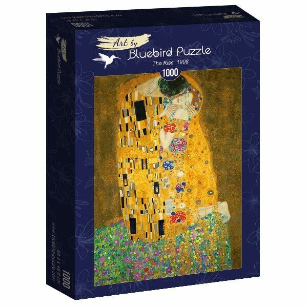 PUZZLE 1000 pcs - The Kiss, 1908 - BLUEBIRD