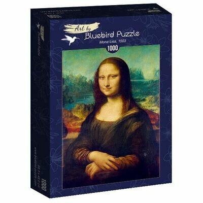 PUZZLE 1000 pcs - Mona Lisa, 1503 - BLUEBIRD