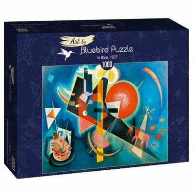 PUZZLE 1000 pcs - Kadinsky - In Blue, 1925 - BLUEBIRD