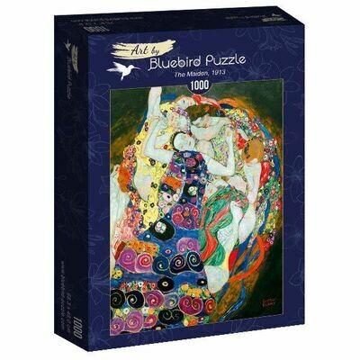 PUZZLE 1000 pcs - Gustave Klimt - The Maiden 1913 - BLUEBIRD