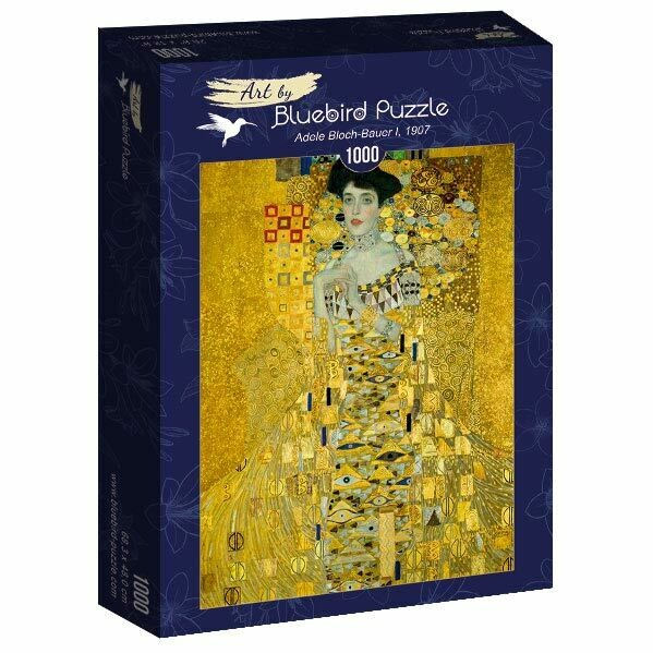 PUZZLE 1000 pcs - Adele Bloch-Bauer I, 1907 - BLUEBIRD