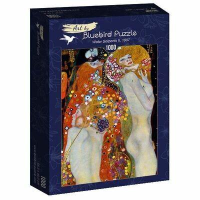 PUZZLE 1000 pcs - Gustave Klimt - Water Serpents II, 1907 - BLUEBIRD