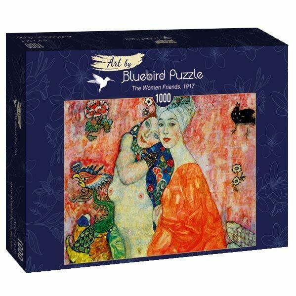 PUZZLE 1000 pcs - Gustave Klimt - The Women Friends 1917 - BLUEBIRD