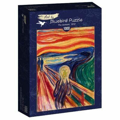 PUZZLE 1000 pcs - Munch - The Scream, 1910 - BLUEBIRD