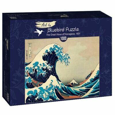 PUZZLE 1000 pcs - Hokusai - The Great Wave of Kanagawa, 1831 - BLUEBIRD