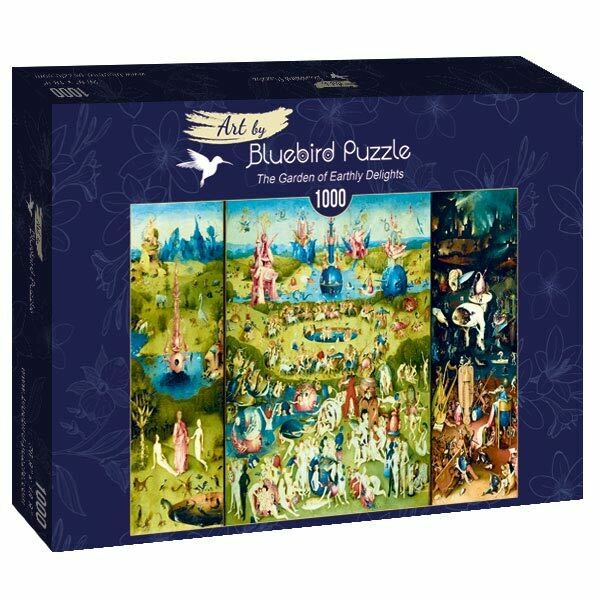 PUZZLE 1000 pcs - Bosch - The Garden of Early Delights - BLUEBIRD