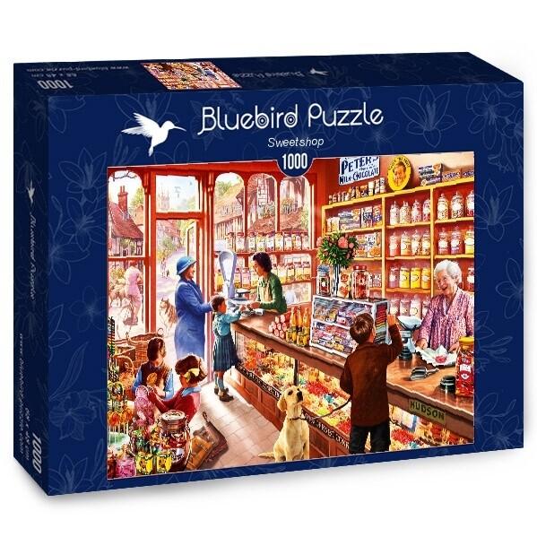 PUZZLE 1000 pcs - Loja de Doces - BLUEBIRD