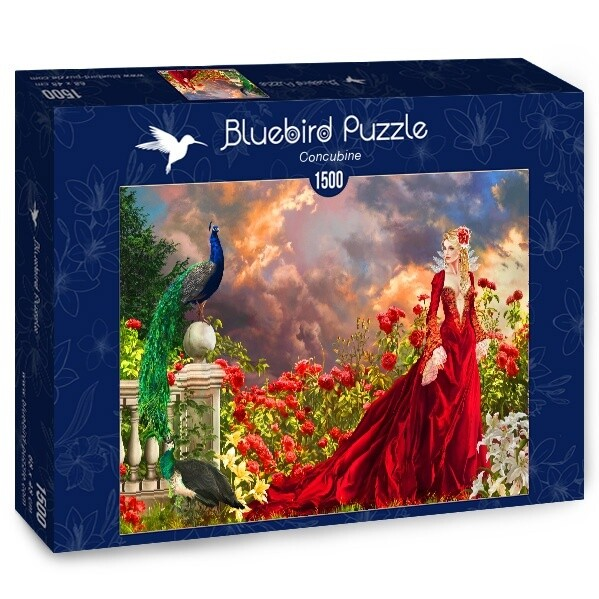 PUZZLE 1500 pcs - Concubina - BLUEBIRD