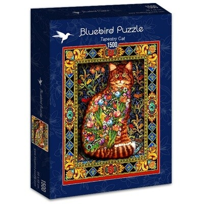 PUZZLE 1500 pcs - Tapete Gato - BLUEBIRD