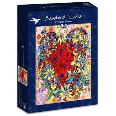 PUZZLE 1500 pcs - Passion Flower - BLUEBIRD