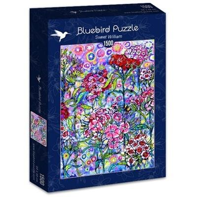 PUZZLE 1500 pcs - Sweet William - BLUEBIRD