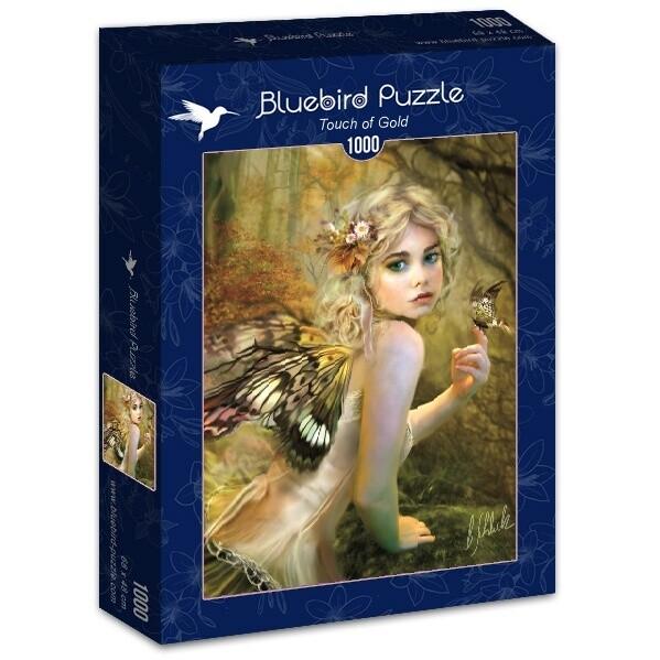 PUZZLE 1000 pcs - Toque Dourado - BLUEBIRD