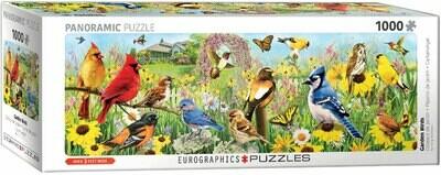 PUZZLE 1000 pcs Pássaros de Jardim - Eurographics