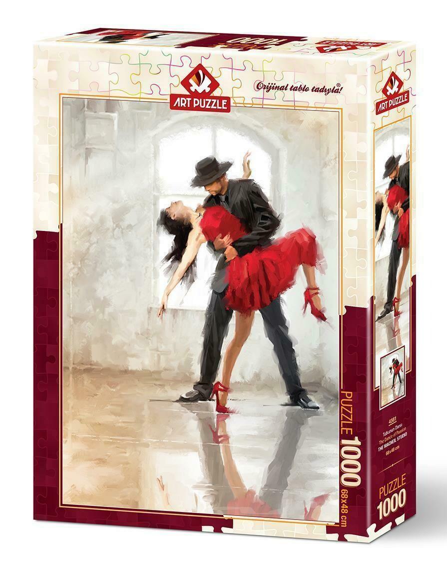 PUZZLE 1000 pcs Dance of Passion - ART PUZZLE