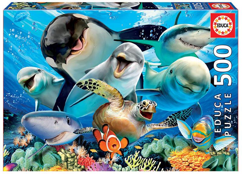 PUZZLE 500 pcs Selfie Submersa - EDUCA
