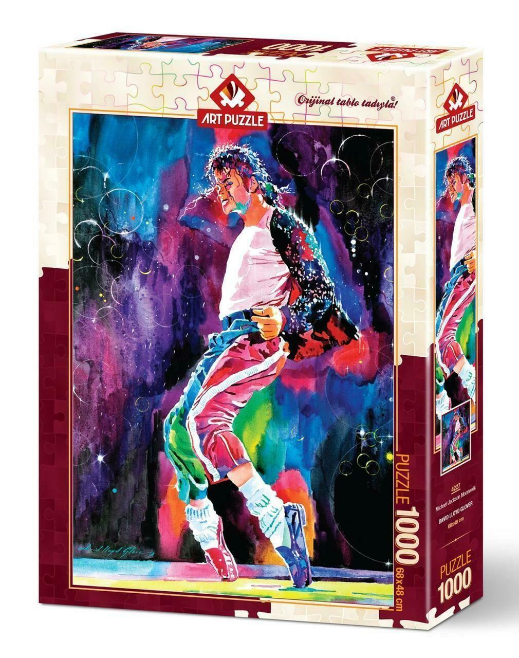 PUZZLE 1000 pcs Michael Jackson Moonwalk - ART PUZZLE