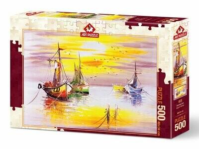 PUZZLE 500 pcs Evening Sun - ART PUZZLE