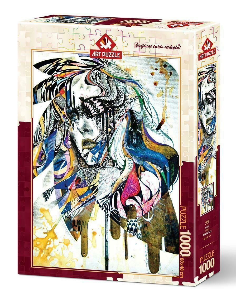 PUZZLE 1000 pcs Blues - ART PUZZLE