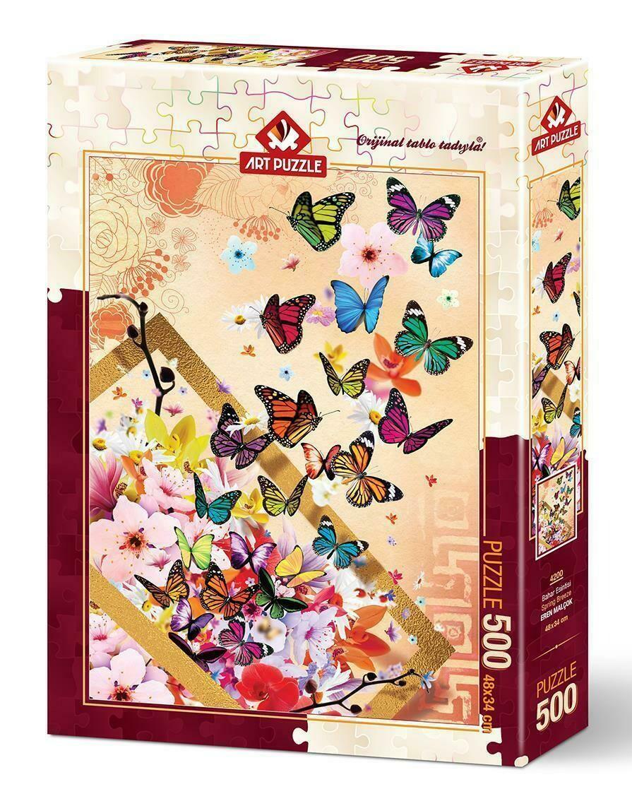 PUZZLE 500 pcs Butterflies - ART PUZZLE