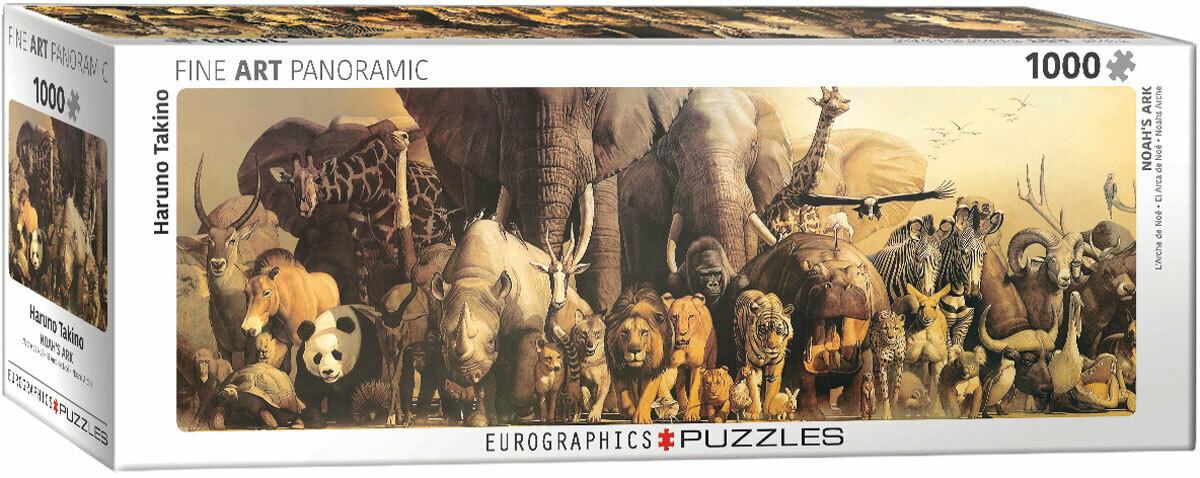 PUZZLE 1000 pcs Arca de Noé - Eurographics