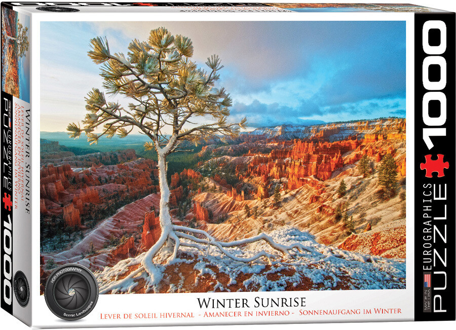 PUZZLE 1000 pcs Winter Sunrise - Eurographics