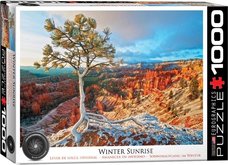 PUZZLE 1000 pcs Winter Sunrise - Eurographics