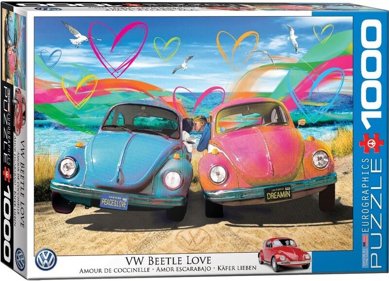 PUZZLE 1000 pcs Beetle Love - Eurographics