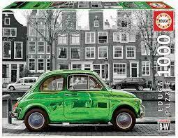 PUZZLE 1000 pcs - Carro em Amesterdão - EDUCA