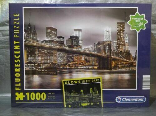 PUZZLE 1000 New York -Neon - CLEMENTONI