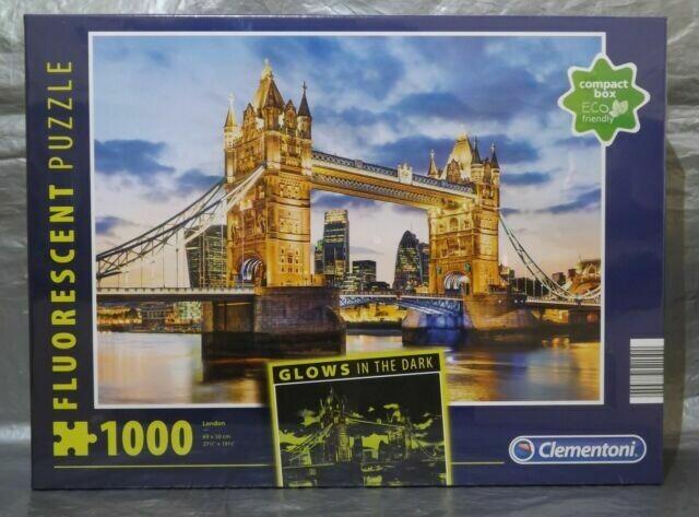 PUZZLE 1000 London Tower - Neon - CLEMENTONI