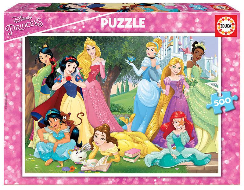 PUZZLE 500 pcs Princesas Disney- EDUCA