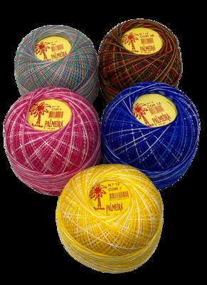 Linha PALMEIRA para Croché Nº6/12 50grs matizada