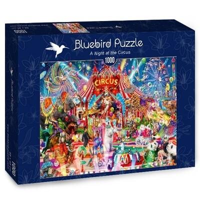PUZZLE 1000 pcs - Night at the Circus - BLUEBIRD