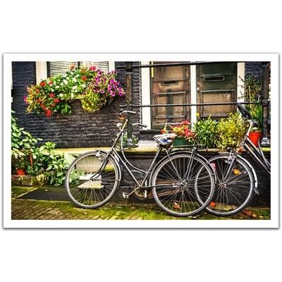 PUZZLE 1000 pcs - Bicicletas Holanda - Pintoo