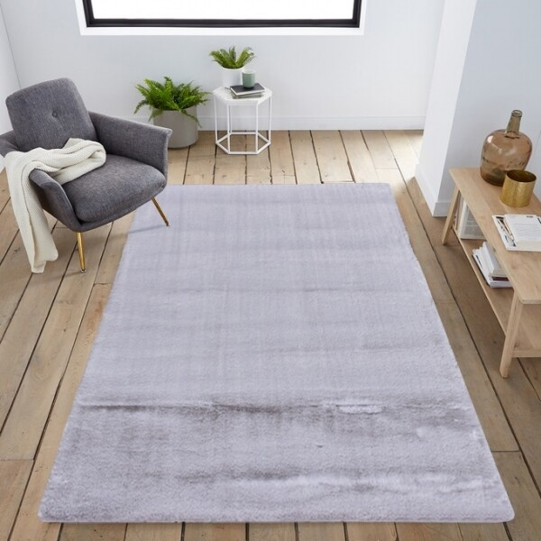 Carpete Bunny Prata 140x200cm