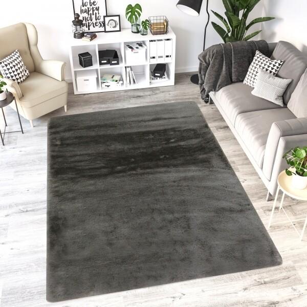 Carpete Bunny Antracite 160x230cm