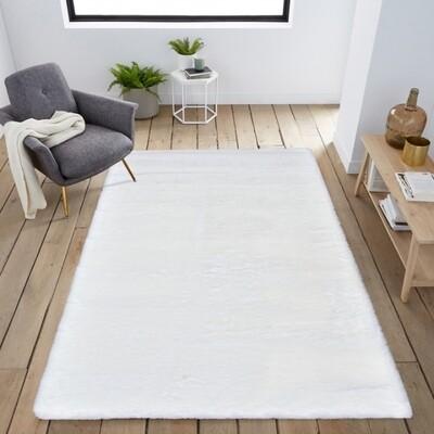 Tapete Bunny Ivory Branco 80x150cm