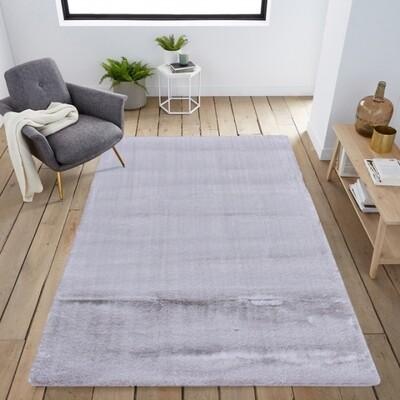Carpete Bunny Prata 160x230cm