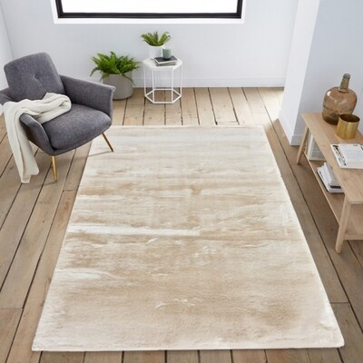 Carpete Bunny Bege 120x170cm