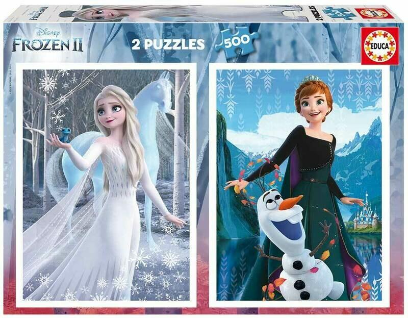 PUZZLE 2x500 pcs Frozen - EDUCA