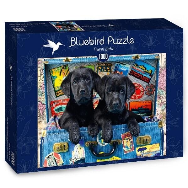 PUZZLE 1000 pcs - Travel Labs - BLUEBIRD