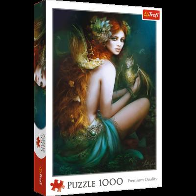 PUZZLE 1000 pcs - Friend of Dragons - TREFL