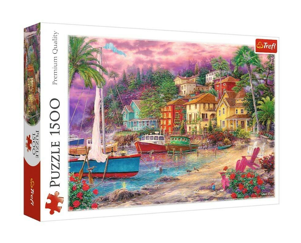 PUZZLE 1500 pcs - Costa Dourada - TREFL