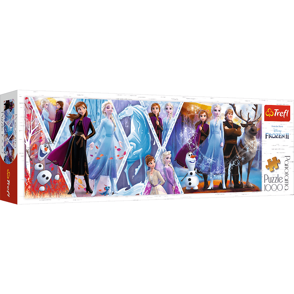 PUZZLE 1000 pcs - Frozen II - Panoramic - TREFL