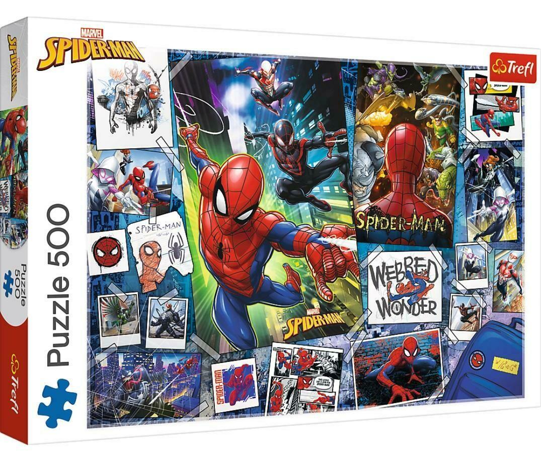 PUZZLE 500 pcs - Spiderman - TREFL
