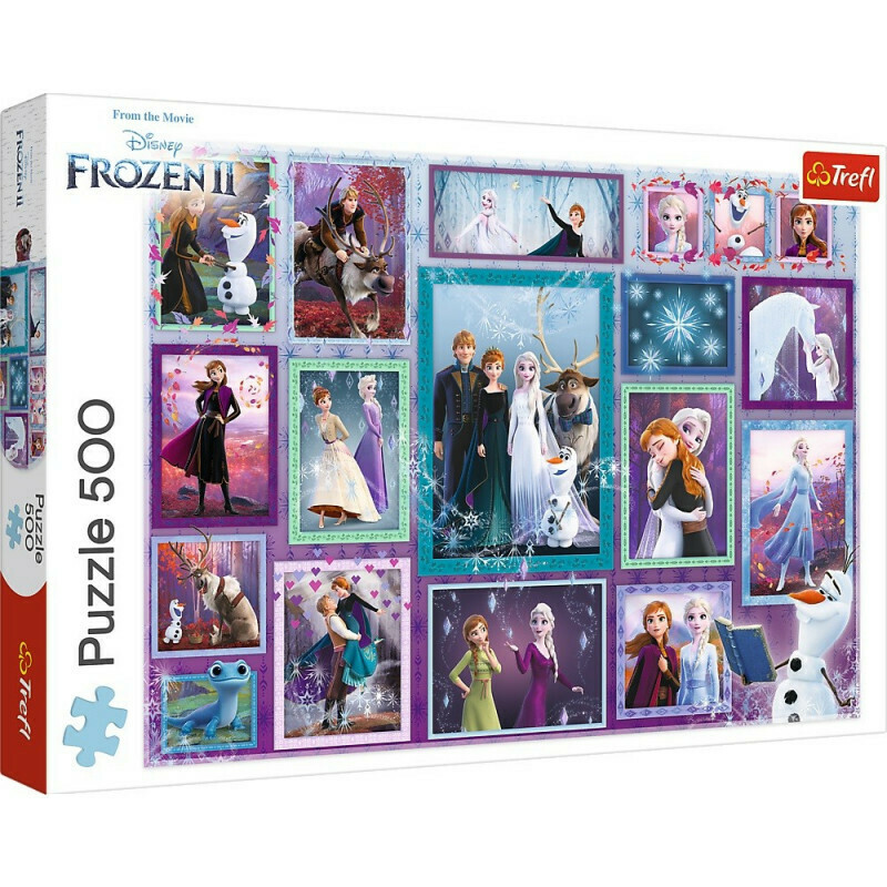 PUZZLE 500 pcs - Frozen II - TREFL