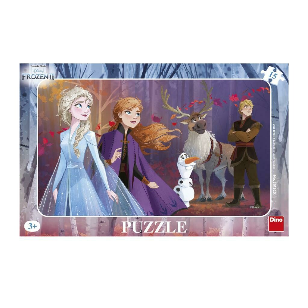 PUZZLE Frame 15 pcs - Frozen II - DINO