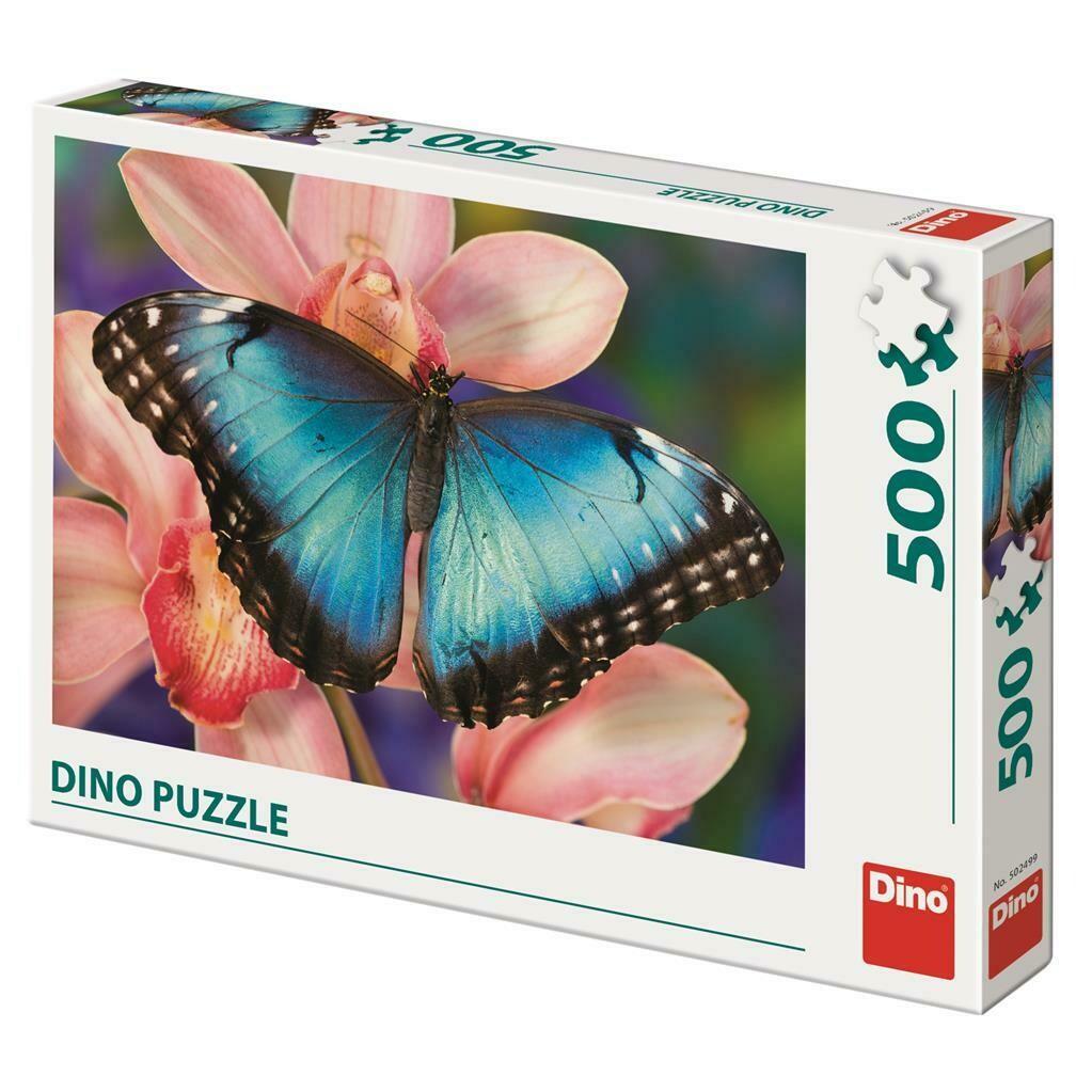 PUZZLE 500 pcs - Borboleta - DINO